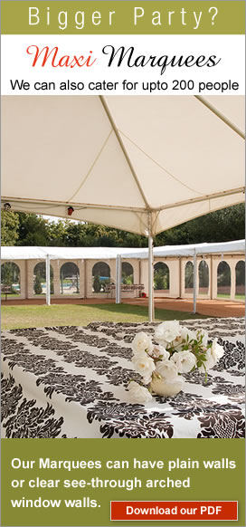 large marquees